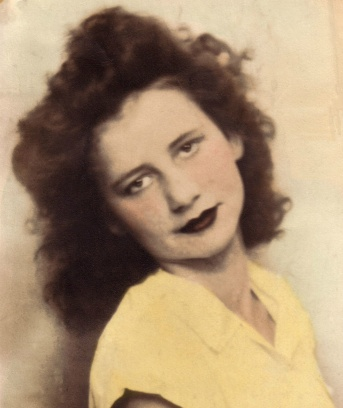 My mother - Ellen Little
