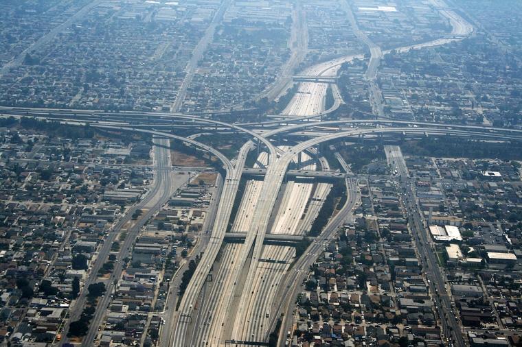 Los_Angeles_-_Echangeur_autoroute_110_105
