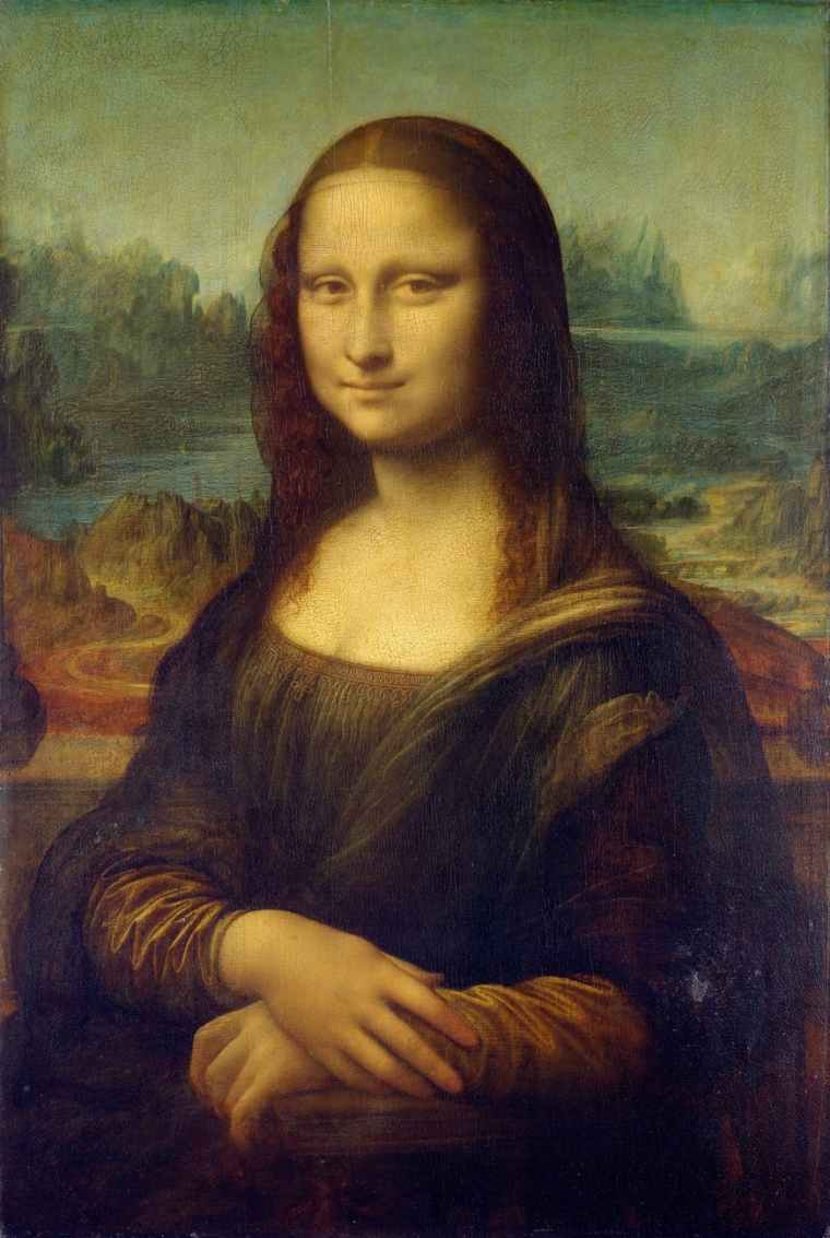 woman art painting mona lisa